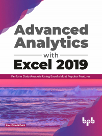 Advanced Analytics with Excel 2019