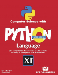 Computer Science with Python Language Made Simple