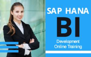 SAP HANA BI Development Online Training