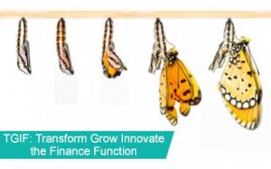 TGIF: Transform Grow Innovate the Finance Function