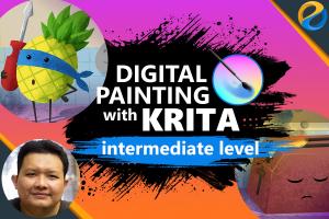 Digital Painting With Krita: Intermediate Level