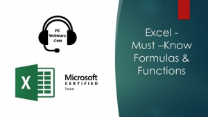 Must Know Excel Formulas and Functions