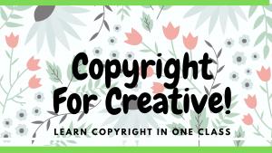 Copyright for Creative Artist