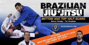 Brazilian Jiu-Jitsu Bottom and Top Half Guard