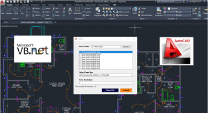 Developing AutoCAD Plugins using VB.NET with Windows Forms