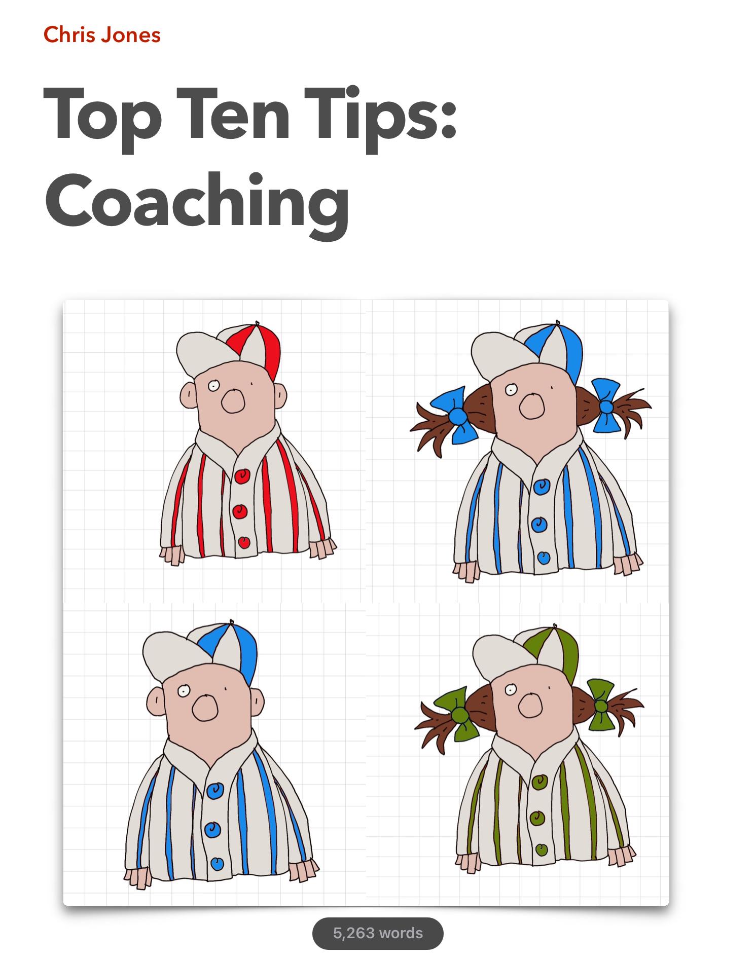 Top Ten Tips: Coaching (eBook)