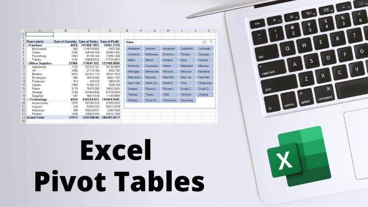 Excel Pivot Tables - Crash Course