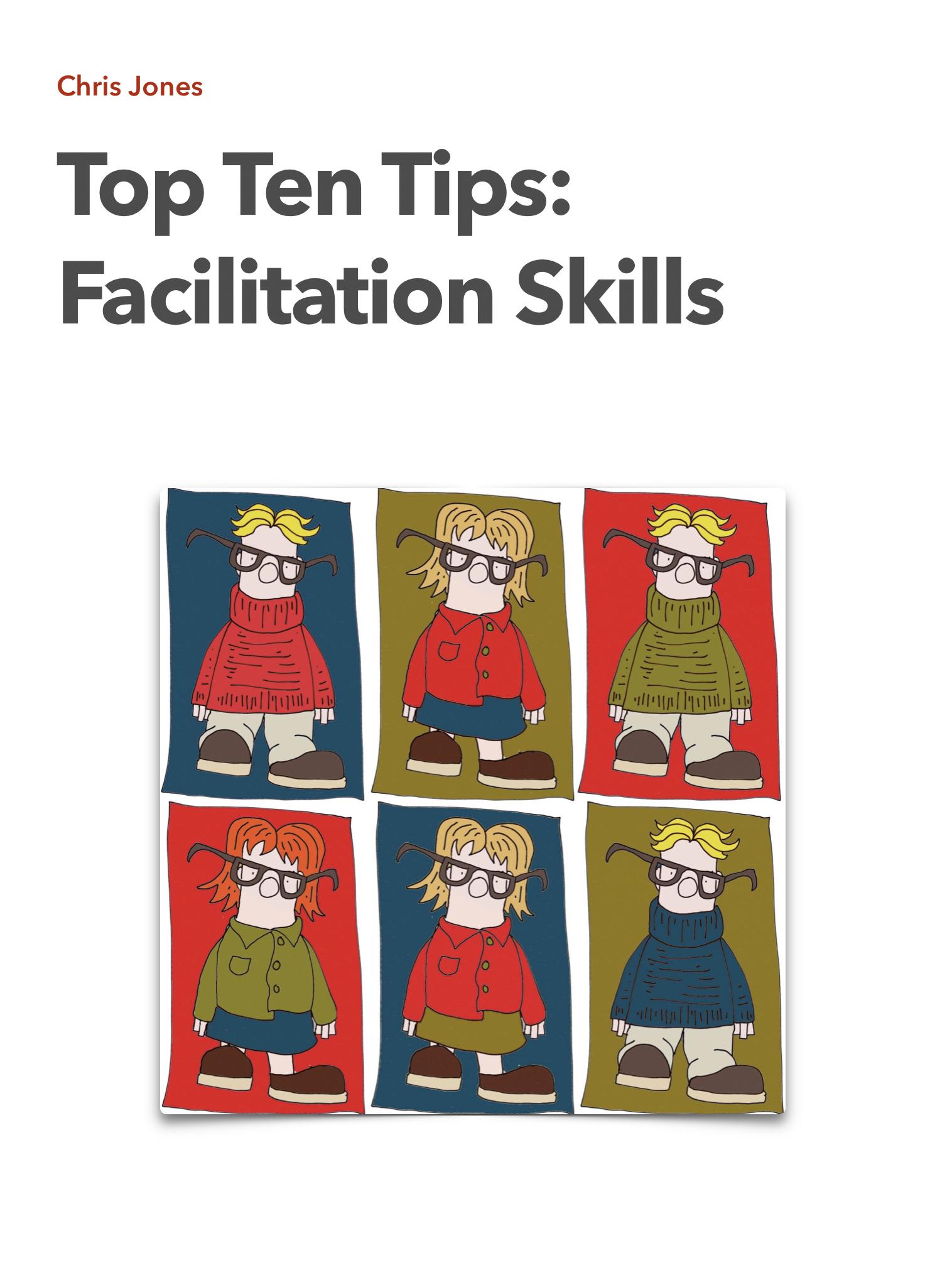 Top Ten Tips: Facilitation Skills