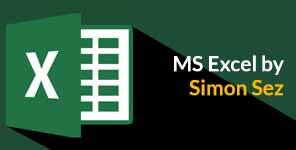 MS Excel by Simon Sez