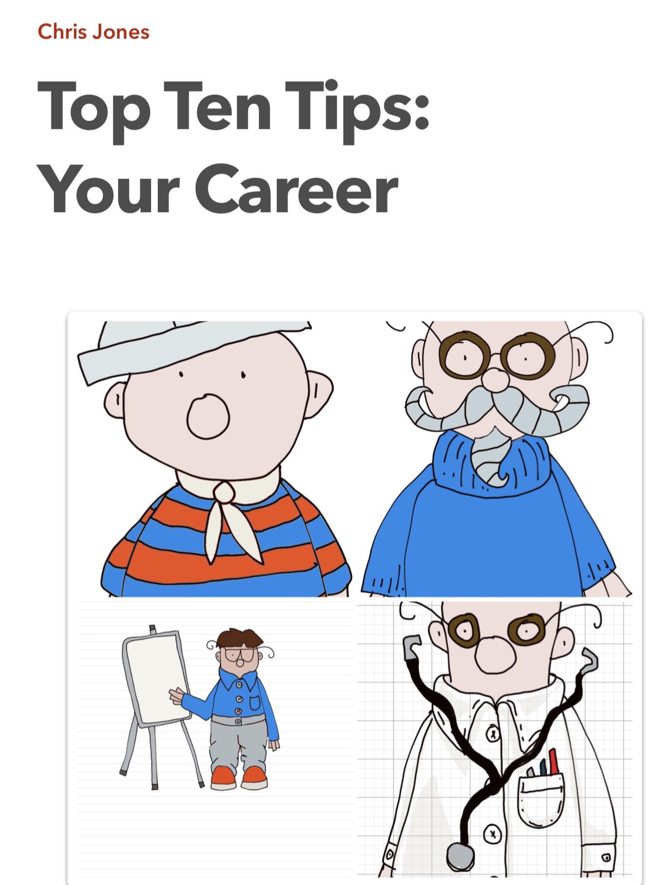 Top Ten Tips: Your Career
