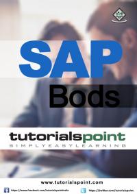 SAP BODS Tutorial