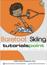 Barefoot Skiing Tutorial